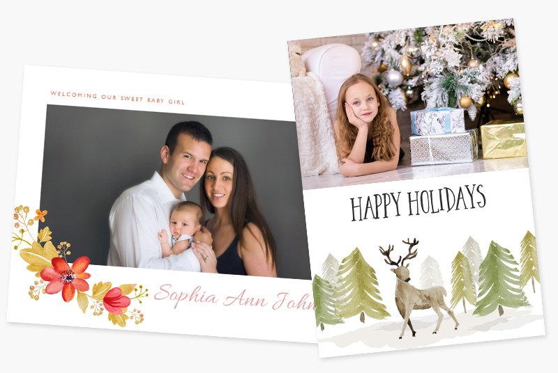 Lenzart, photo lab, print lab, holiday cards, boost holiday card sales